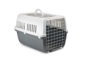 Katten reismand wit/grijs