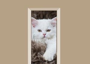 Deursticker kat fluffy