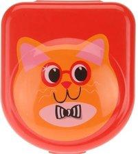 Broodtrommeltje kat rood