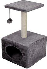 katten krabpaal compact grijs