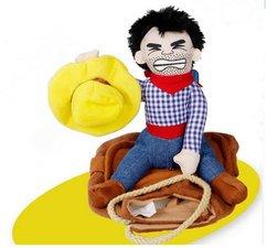 Kat of hondenjas met rodeo cowboy XL