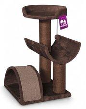 Showroommodel: Krabpaal Petrebels Residence 80 bruin
