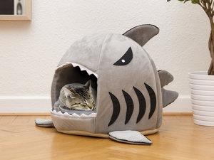 Kattenmand haai grijs