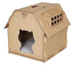 Kattenhuis karton 'het stadscafé'
