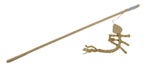 Kattenhengel speeltje visgraat