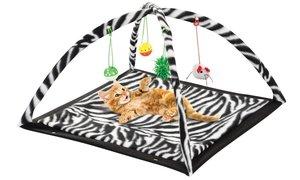Katten speelmat Zebra Print