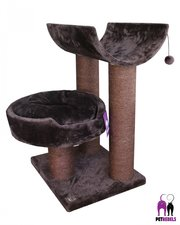 Krabpaal Petrebels Sweet Petite Lodge 75 fuzzy bruin
