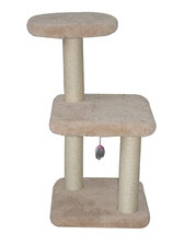 Krabpaal cat tree creme